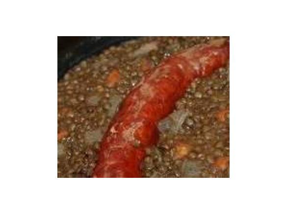 saucisse lentille thermomix