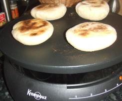 Petits pains rapides à la crépière