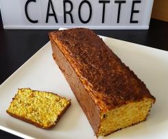 Cake salé à la carotte et aux herbes