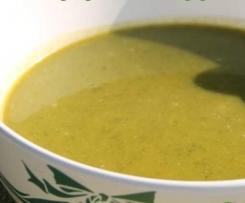 soupe d'hiver au chou kale