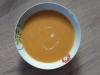 Soupe de courge au curry rouge et lait de coco