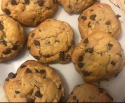 Cookies aux pépites de chocolats ou fourré au nutella