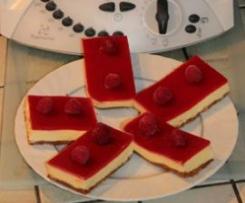 Bavarois de yaourt à la framboise