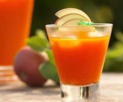 Smothie dépuratif: pomme, carotte & radis.