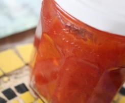 Confiture Orange/fraises