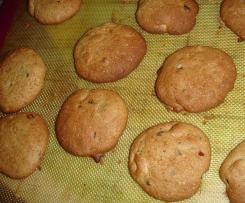 Cookies gluten free et lactose free option sans œuf possible