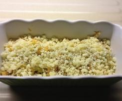 Parmentier boeuf et magret de canard fumé - purée de pommes de terre, carottes et panais