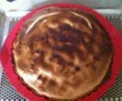tarte aux pommes meringuées