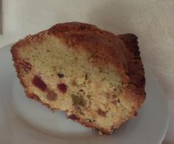 Le cake aux fruits confits de maman
