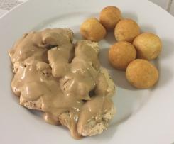 Filet de poulet sauce spéculos, Délicieux et rapide!