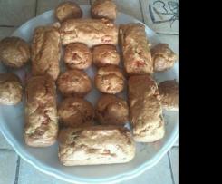 mini cakes et mini muffins thon olives tomates cerise