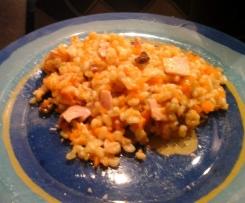 Ebly façon risotto aux carottes et curry