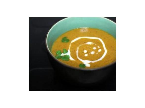 Soupe De Lentilles Corail Tomate Et Lait De Coco Vegan Par Marina