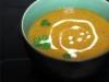 Soupe de lentilles corail, tomate et lait de coco (vegan)