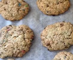 Cookies au m&ms
