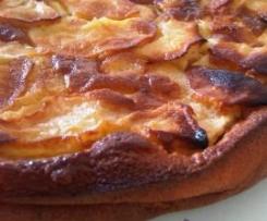 Gâteau aux pommes façon clafouti