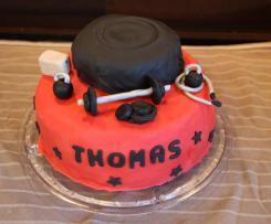 Gâteau au chocolat pour cake design