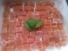 Pâtes de fruits à la nectarine et menthe