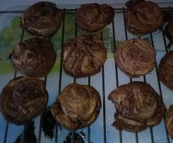 Muffins au Nutella et pépites de chocolat