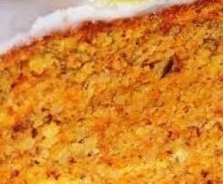 Gâteau royal carottes, amandes
