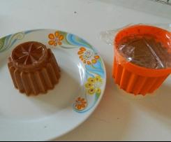 flan chocolat