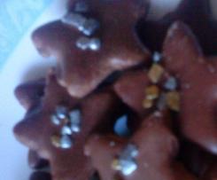 Etoiles au chocolat (petits gâteaux de Noël)