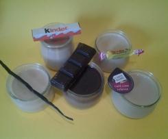 Crèmes dessert rapides. Choisissez vos parfums