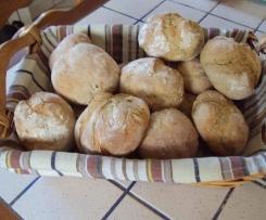Petits pains ronds aux céréales