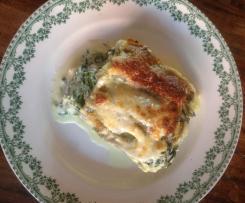 Lasagne épinards et ricotta