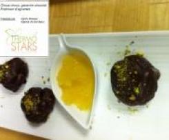 Choux-Choco et sa fraîcheur d'agrumes