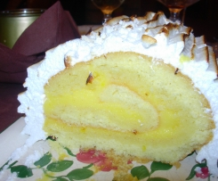 Buche de noel tarte citron