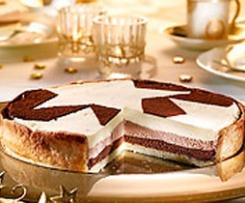 TARTE AUX TROIS CHOCOLATS