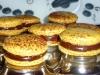Macarons ganache chocolat-passion