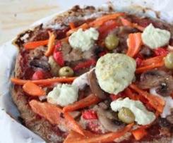 Pâte à pizza sarrasin igname (Sans gluten/sans lait)