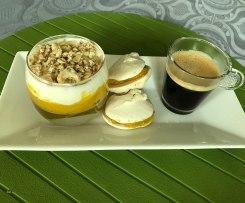 Café gourmand yaourt passion