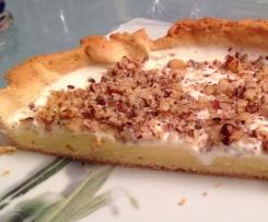 tarte brésilienne (crème patissière)