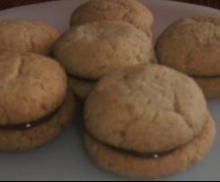 BAISERS de DAME ( baci di dama ) biscuits Italiens