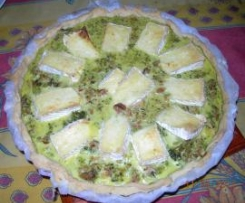 Quiche au Brocolis et camembert