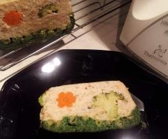 Terrine de poisson aux restes de légumes