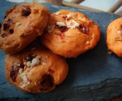 Cookies aux tomates séchées et au romarin