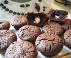 Muffins fondants au chocolat cœur de Schoco-Bons