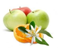 Compote pomme fleur d'oranger