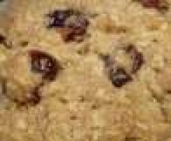 Cookies avoine cramberries