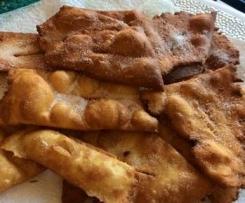 Oreillettes (beignets) provençales pour Mardi Gras