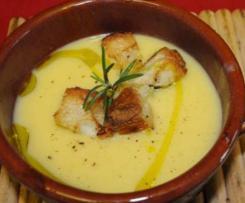 Soupe de potiron et pommes de terre