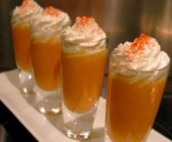 Verrines glacées carottes & cumin