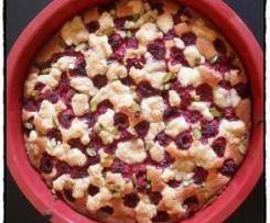 Gâteau Framboises Amandes