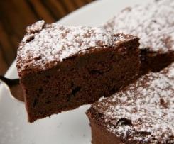 Gâteau moelleux au chocolat et amandes