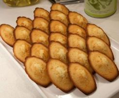 Les madeleines inspirées de Christophe M.