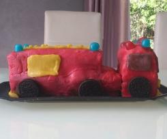 Le camion de pompier de Tom